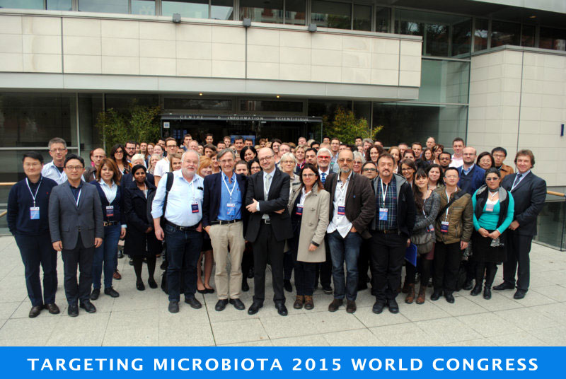 Microbiota 2015 World Congress images