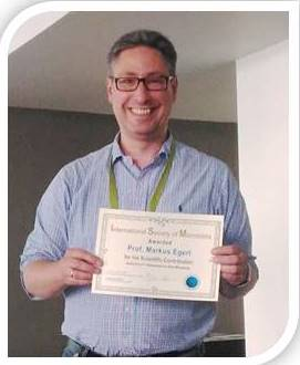 Role of the skin microbiota in human health and disease: Dr Markus Egert was awarded for his scientific contribution